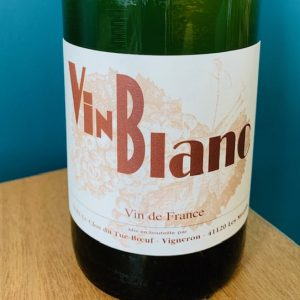 Vin blanc nature de Touraine