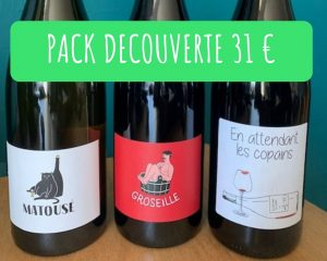 Pack vins nature
